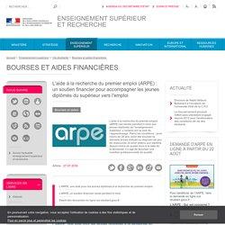 L'aide à la recherche du premier emploi (ARPE) : un soutien financier pour accompagner les jeunes diplômés du supérieur vers l'emploi