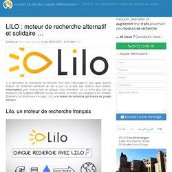 Lilo, moteur de recherche alternatif