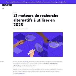 21 moteurs de recherche alternatifs à utiliser en 2020