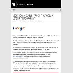 Recherche Google : Trucs et Astuces à retenir [infographie]