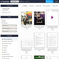 Recherche, Bibliothèque et librairie numérique en ligne