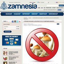 Le Royaume-Uni bloque la recherche sur les champignons magiques