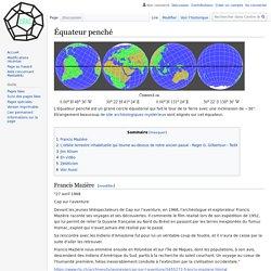 Équateur penché — Centre de Recherche sur les Anciennes Civilisations
