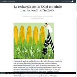 OGM: l'INRA pointe une recherche sous influence