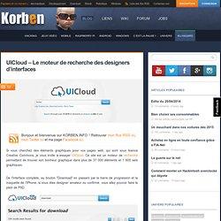 UICloud – Le moteur de recherche des designers d'interfaces