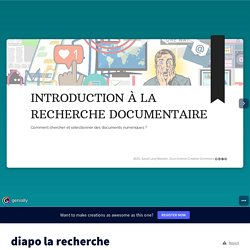 diapo la recherche documentaire INTRO by sarah.levy-bouton on Genially