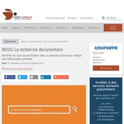 MOOC La recherche documentaire - Thot Cursus