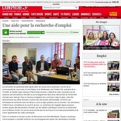 Une aide pour la recherche d'emploi - 29/09/2015 - ladepeche.fr