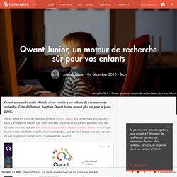 Qwant Junior, un moteur de recherche sûr pour vos enfants - Tech - Numerama