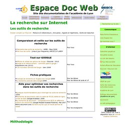 TICE :La recherche sur Internet- Espacedocweb