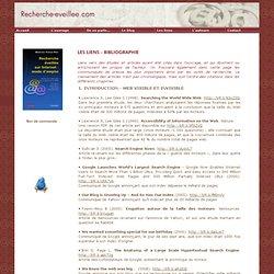 Recherche éveillée sur Internet - Liens Bibliographie 1