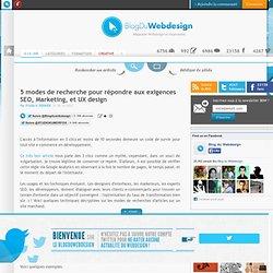 5 modes de recherche pour répondre aux exigences SEO, Marketing, et UX design - ergonomie-e-commerce