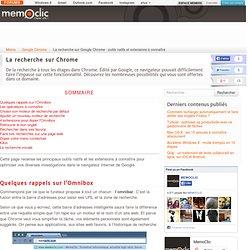Chrome : 5 extensions pour doper vos recherches via l'omnibar