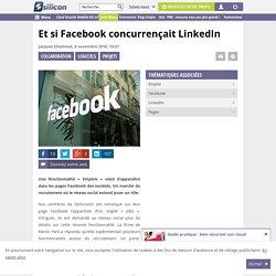 Recherche d'emploi : Facebook futur concurrent de Linkedin ?