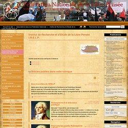 Institut de Recherche et d'Etude de la Libre Pensée I.R.E.L.P.