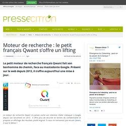 Moteur de recherche : le petit français Qwant s'offre un lifting