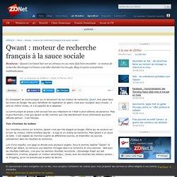 Qwant : moteur de recherche français à la sauce sociale