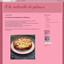Le Gâteau aux pommes de Bolzano