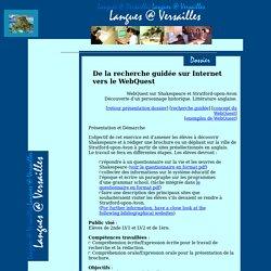 De la recherche guidée vers le WebQuest