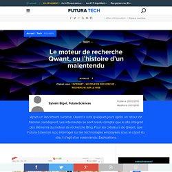 Le moteur de recherche Qwant, ou l'histoire d'un malentendu