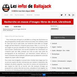 Recherche en masse d'images libres de droit, LibreStock