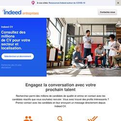 Recherche de CV Indeed pour les employeurs