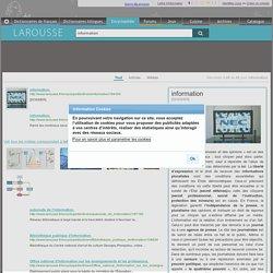 Recherche : information - Résultats 1-20 de 92