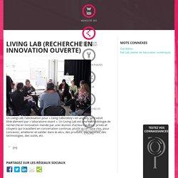Living Lab (recherche en innovation ouverte)