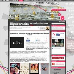 Niice.co, un moteur de recherche pour inspirer les créatifs