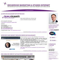 Recherche Marketing & Etudes Internet.
