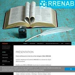 Réseau de recherche en analyse narrative des textes bibliques