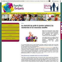 Infos de la franchise sur Franchise Enfants - Le marché du prêt-à-porter enfant à la recherche d'un nouveau souffle