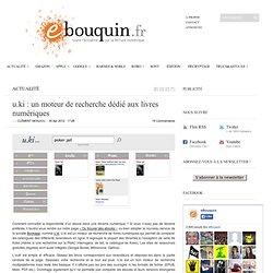 u.ki : un moteur de recherche dédié aux livres numériques