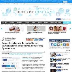 Philippe Rémy: La recherche sur la maladie de Parkinson en France: un modèle de dynamisme