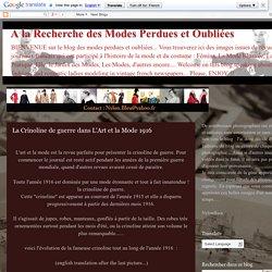 A la Recherche des Modes Perdues et Oubliées: mai 2013
