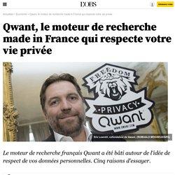 Qwant, le moteur de recherche made in France qui respecte votre vie privée