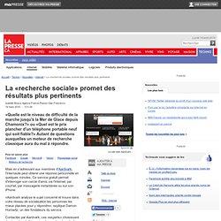La «recherche sociale» promet des résultats plus pertinents