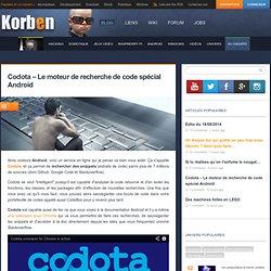 Codota - Le moteur de recherche de code spécial Android