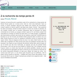À la recherche du temps perdu IX - Proust, Marcel - Télécharger
