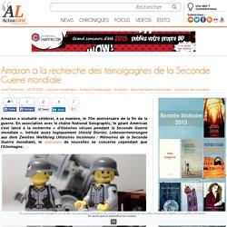 Amazon à la recherche des témoigagnes de la Seconde Guerre mondiale