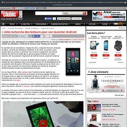 Jolla recherche des testeurs pour son launcher Android