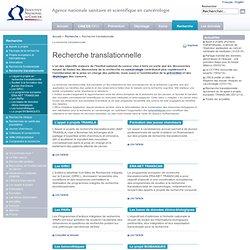 Recherche translationnelle - Recherche translationnelle - Recherche