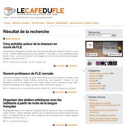 """Recherche pour """"travailler en ligne"""" » Le Café du FLE"""