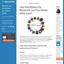 Liste Des Moteurs De Recherche Les Plus Utilisés (Mise à jour) par Neocamino