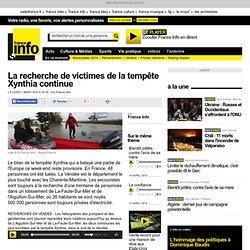 La recherche de victimes de la tempête Xynthia continue - France