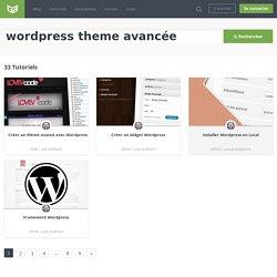 Recherche wordpress theme avancée