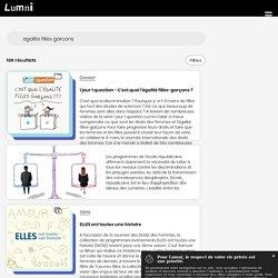Rechercher sur Lumni une video, un article, un jeu, un dossier par niveau ou par matière