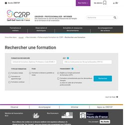 C2RP Carif-Oref Hauts-de-France