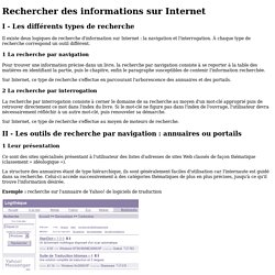 Fiche ressource 1 - Rechercher desinformations surInternet