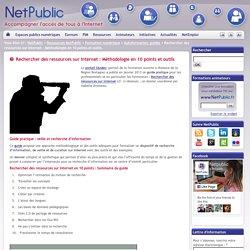 Rechercher des ressources sur Internet : Méthodologie en 10 points et outils